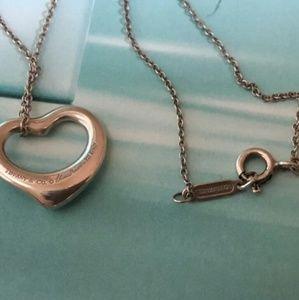 Tiffany & Co. Jewelry - Tiffany & Co.925 Elsa Peretti Heart Necklace